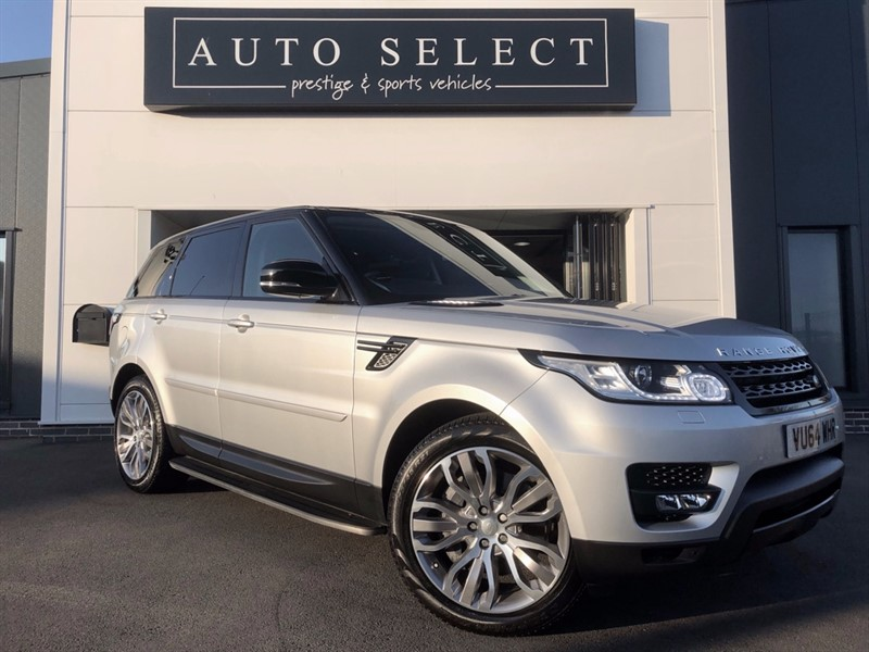 used Land Rover Range Rover Sport 3.0 SDV6 HSE DYNAMIC 1 LADY OWNER!! FLSH!! STUNNING!! in chesterfield