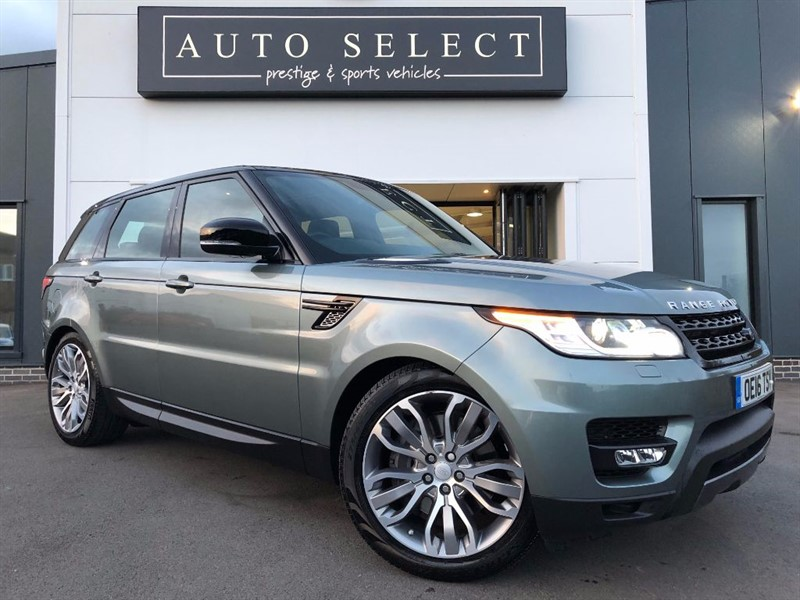 used Land Rover Range Rover Sport 3.0 SDV6 HSE DYNAMIC 7 SEATER!! PAN ROOF!! TOW BAR!! in chesterfield