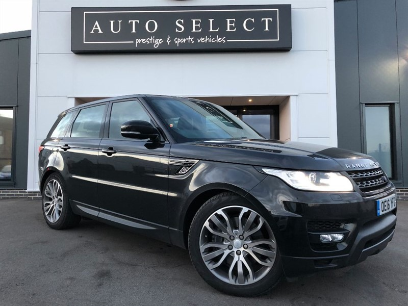 used Land Rover Range Rover Sport 3.0 SDV6 HSE DYNAMIC HUGE SPEC!! PAN ROOF!! TOW BAR!! in chesterfield