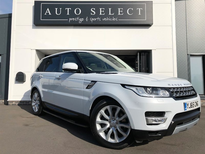 used Land Rover Range Rover Sport SDV6 HSE GLASS PAN ROOF!! 1 OWNER!! in chesterfield