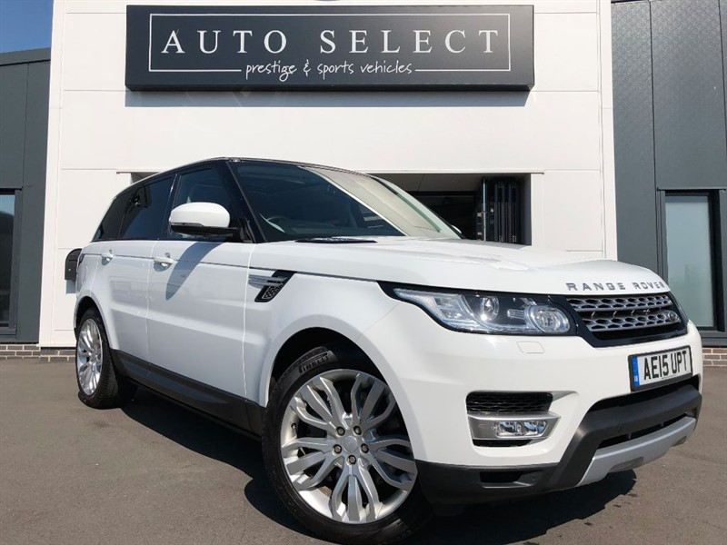 used Land Rover Range Rover Sport 3.0 SDV6 HSE MASSIVE SPEC!! ABSOLUTELEY IMMACULATE!! in chesterfield