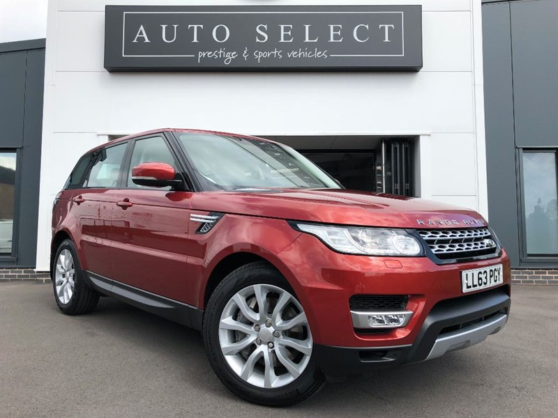 used Land Rover Range Rover Sport SDV6 HSE FLSH & JUST SERVICED in chesterfield