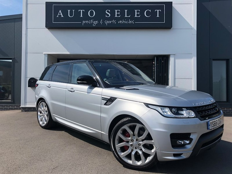 used Land Rover Range Rover Sport 3.0 SDV6 AUTOBIOGRAPHY DYNAMIC IMMACULATE!! 1 LADY OWNER!! in chesterfield