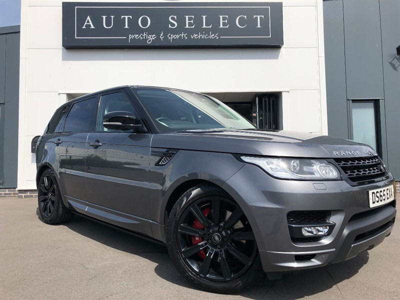 used Land Rover Range Rover Sport 4.4 SDV8 AUTOBIOGRAPHY DYNAMIC STEALTH PACK!! in chesterfield