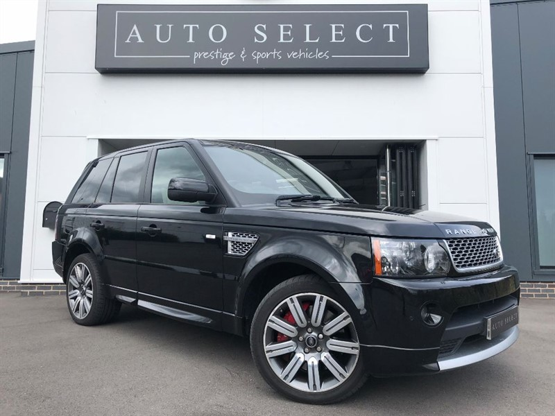 used Land Rover Range Rover Sport 5.0 V8 SUPER CHARGED AUTOBIOGRAPHY SPORT in chesterfield