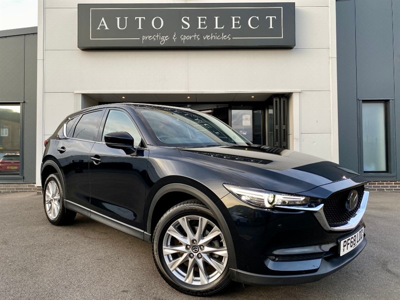 used Mazda CX-5 2.2D SPORT NAV PLUS MONSTER SPEC!! FMSH!! in chesterfield