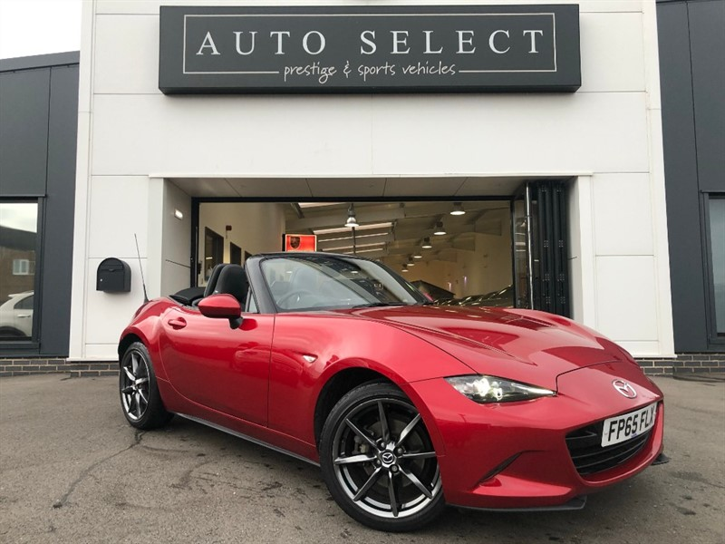 used Mazda MX-5 2.0 SPORT NAVIGATION!! LEATHER!! IMMACULATE!! in chesterfield