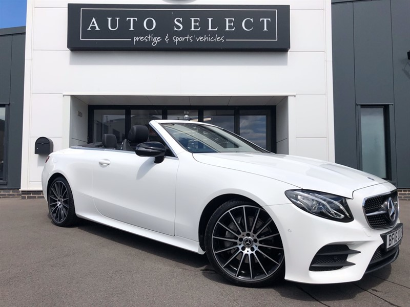 used Mercedes 220 E  D AMG LINE in chesterfield