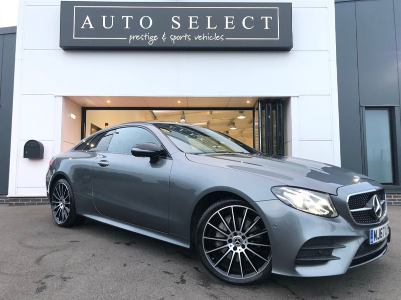 used Mercedes 220 E  D 4MATIC AMG LINE PREMIUM 4X4 in chesterfield