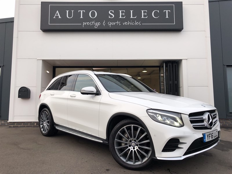 used Mercedes 220 GLC  D 4MATIC AMG LINE 1 OWNER!! TOTALLY STUNNING CAR!! in chesterfield