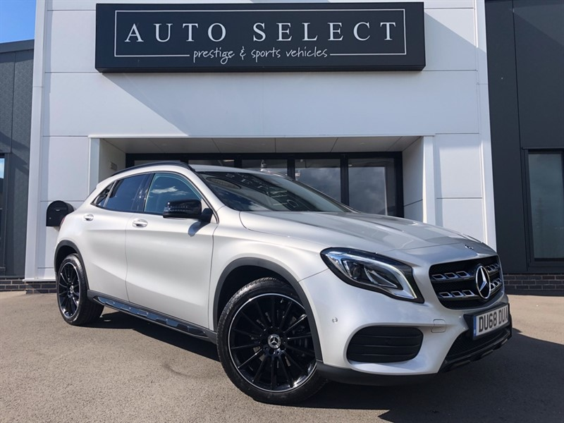 used Mercedes 220 GLA 2.2D 4MATIC AMG LINE PREMIUM in chesterfield