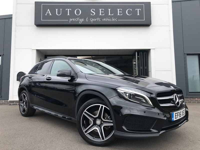 used Mercedes 250 GLA  4MATIC AMG LINE PREMIUM 1 LADY OWNER!! MASSIVE SPEC!! in chesterfield
