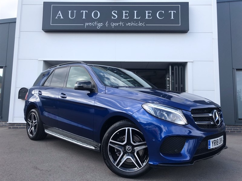 used Mercedes 250 GLE  D 4MATIC AMG NIGHT EDITION PREMIUM PLUS MONSTER SPEC!! in chesterfield
