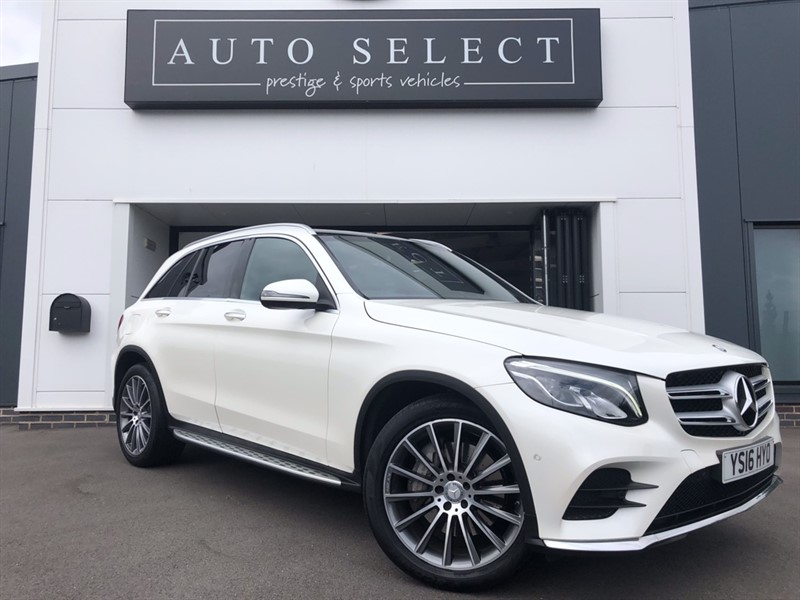 used Mercedes 250 GLC  D 4MATIC AMG LINE PREMIUM in chesterfield
