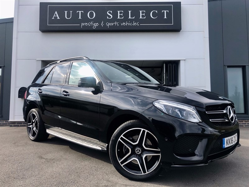 used Mercedes 250 GLE  2.2D 4MATIC AMG NIGHT EDITION PREMIUM PLUS!! MONSTER SPEC!! in chesterfield