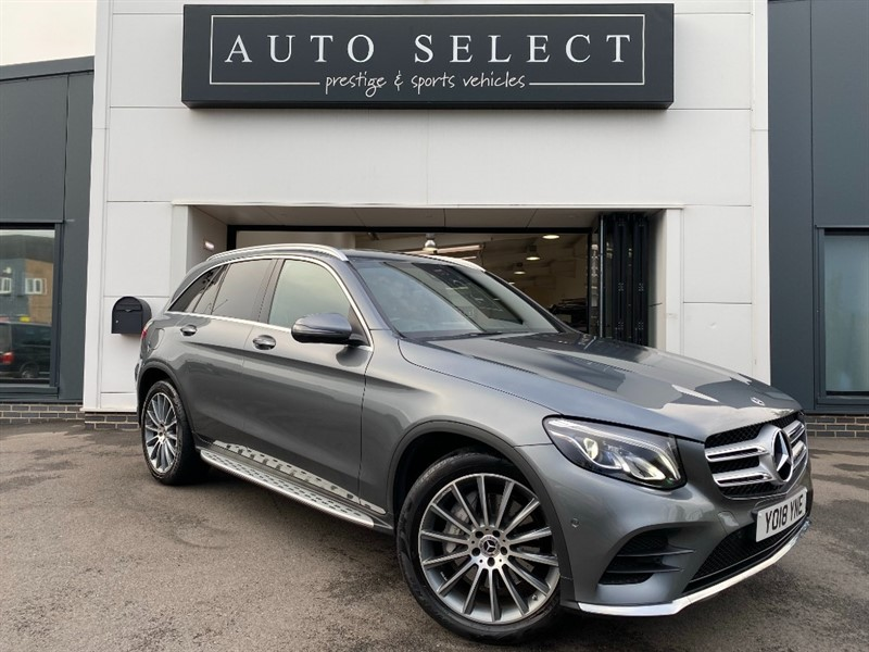 used Mercedes 250 GLC  D 4MATIC AMG LINE  INDISTINGUISHABLE FROM NEW!! in chesterfield