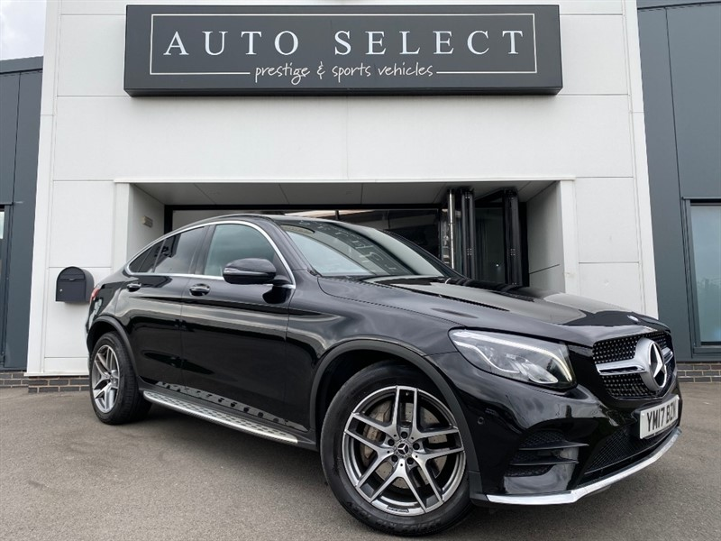 used Mercedes 350 GLC  D 4MATIC AMG LINE PREMIUM PLUS in chesterfield