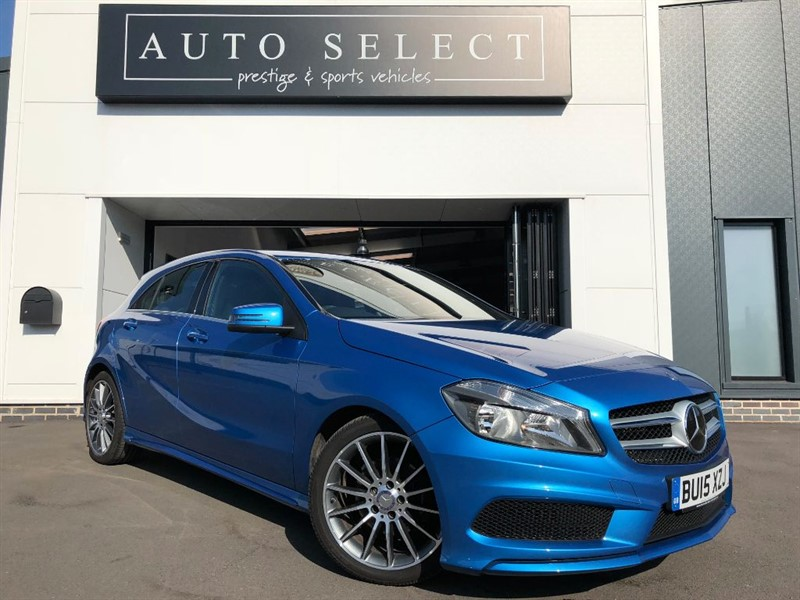 used Mercedes A200 BLUEEFFICIENCY AMG SPORT STUNNING CAR!! in chesterfield
