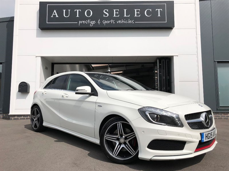 used Mercedes A250 4MATIC ENGINEERED BY AMG MONSTER SPEC!!  in chesterfield