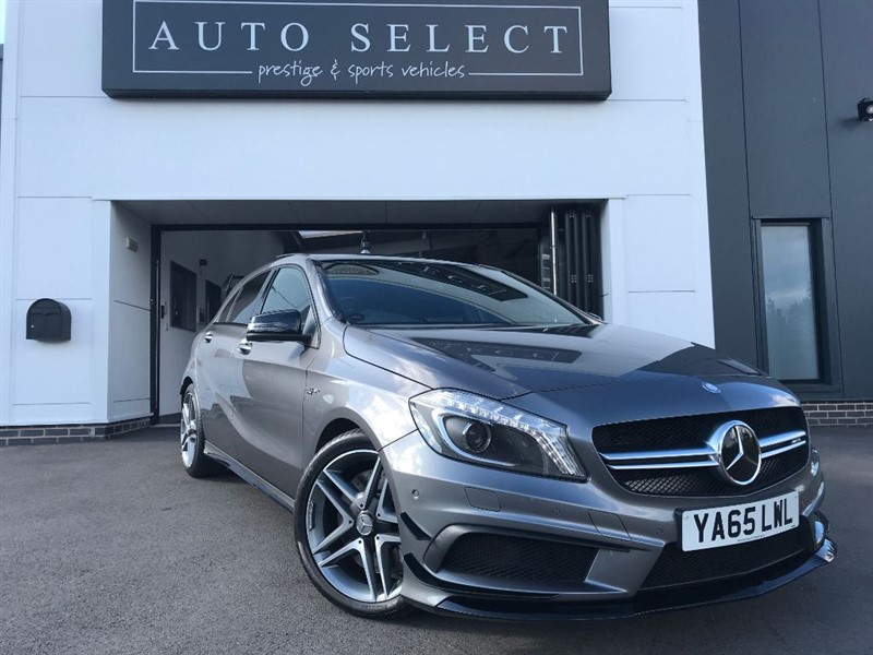 used Mercedes A45 AMG 2.0 4MATIC AMG AERO & EXCLUSIVE PACK!! in chesterfield