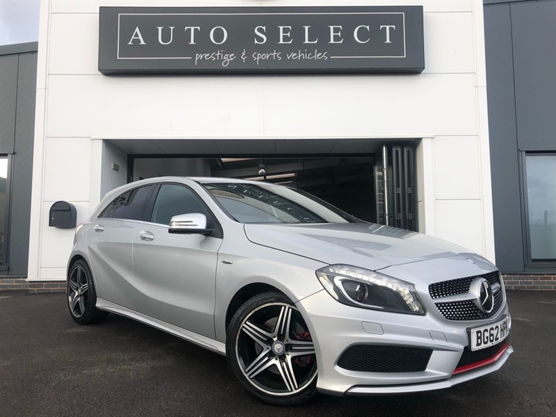 used Mercedes A250 2.0 BLUEEFFICIENCY ENGINEERED BY AMG Sat Nav!! Full Service History!! in chesterfield