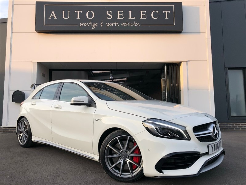 used Mercedes A45 AMG AMG A 45 4MATIC ABSOLUTLEY IMMACULATE!! in chesterfield