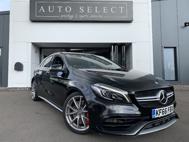 used Mercedes A45 AMG 4MATIC PREMIUM MONSTER SPEC!! IMMACULATE!! in chesterfield