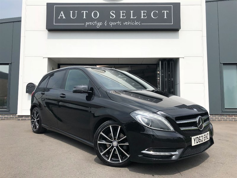 used Mercedes B180 CDI 1.6 BLUEEFFICIENCY AMG SPORT FULL LEATHER!! in chesterfield