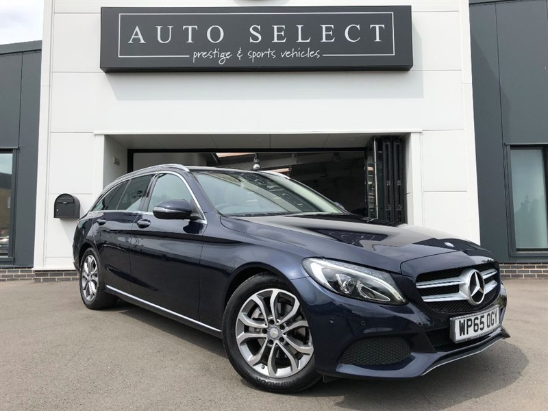used Mercedes C220 D SPORT PREMIUM MONSTER SPEC!! 1 OWNER!! in chesterfield