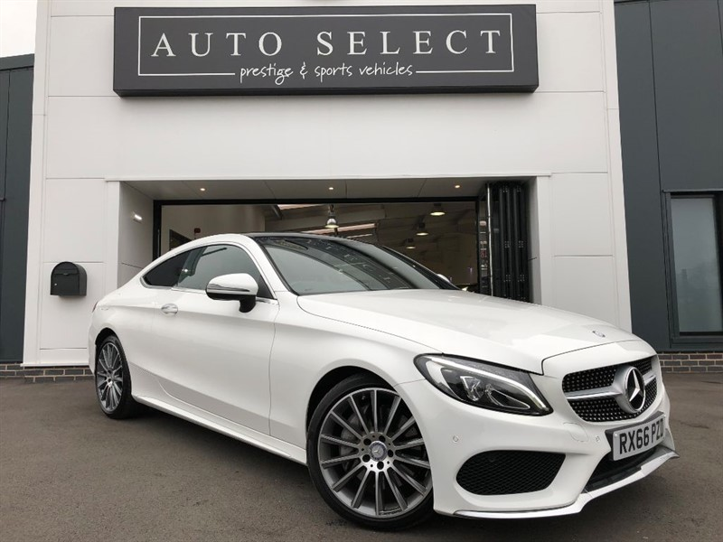 used Mercedes C250 C-CLASS C 250 D AMG LINE PREMIUM MONSTER SPEC!! PAN ROOF!! in chesterfield