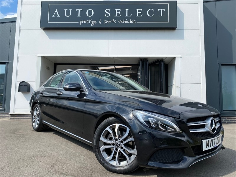used Mercedes C200 D SPORT NAV VERY LOW MILES!! STUNNING!! in chesterfield