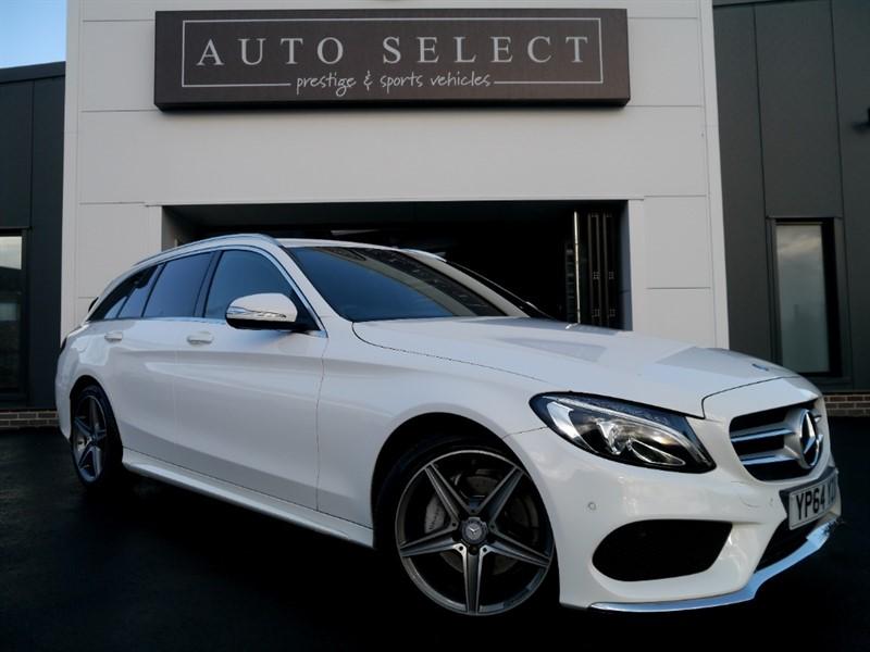 used Mercedes C220 BLUETEC AMG LINE ESTATE!! MASSIVE SPEC!! �30 TAX in chesterfield