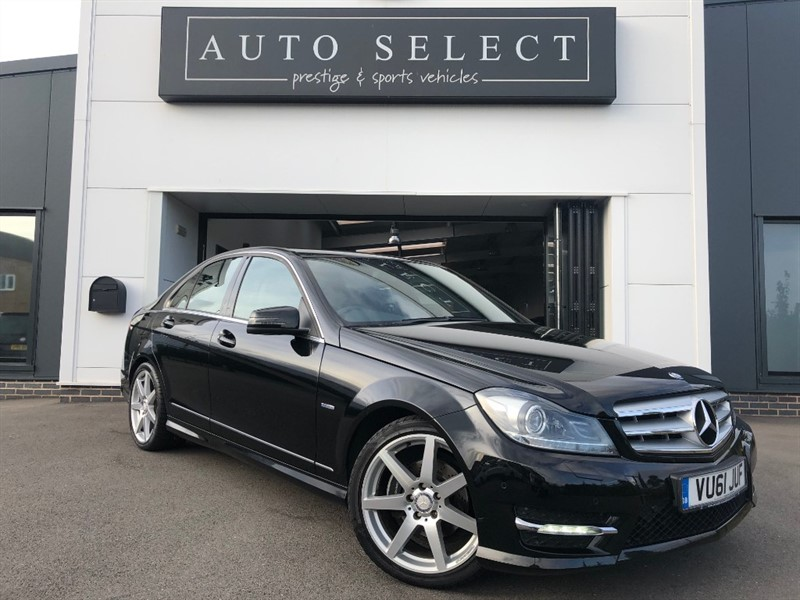 used Mercedes C220 2.2 CDI BLUEEFFICIENCY SPORT in chesterfield