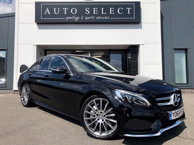 used Mercedes C250 2.2 D AMG LINE PREMIUM 19Inch Alloys!! NAV & PAN ROOF!! 1 LOCAL OWNER!! in chesterfield