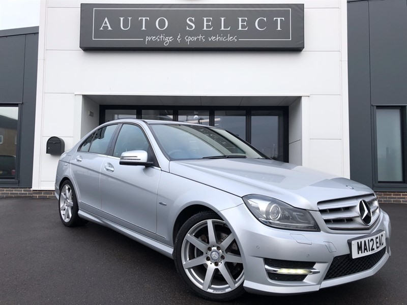 used Mercedes C250 2.2 CDI BLUEEFFICIENCY SPORT FMBSH!! STUNNING CAR!! in chesterfield