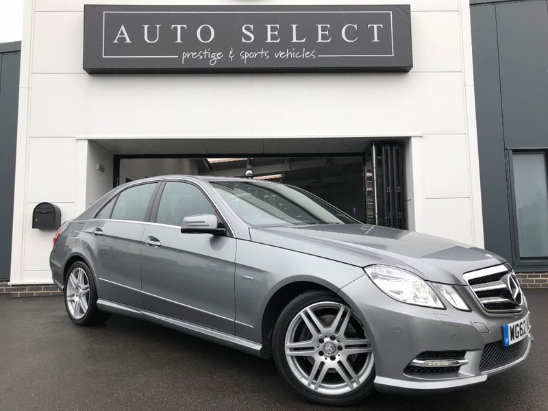 used Mercedes E350 3.0 CDI BLUEEFFICIENCY SPORT NAVIGATION in chesterfield