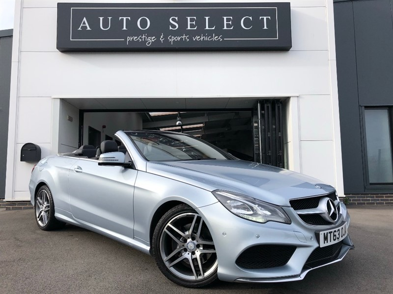 used Mercedes E350 E350 CDI BlueTEC AMG Sport Cabriolet 7G-Tronic Plus 2dr NEW SHAPE!! in chesterfield