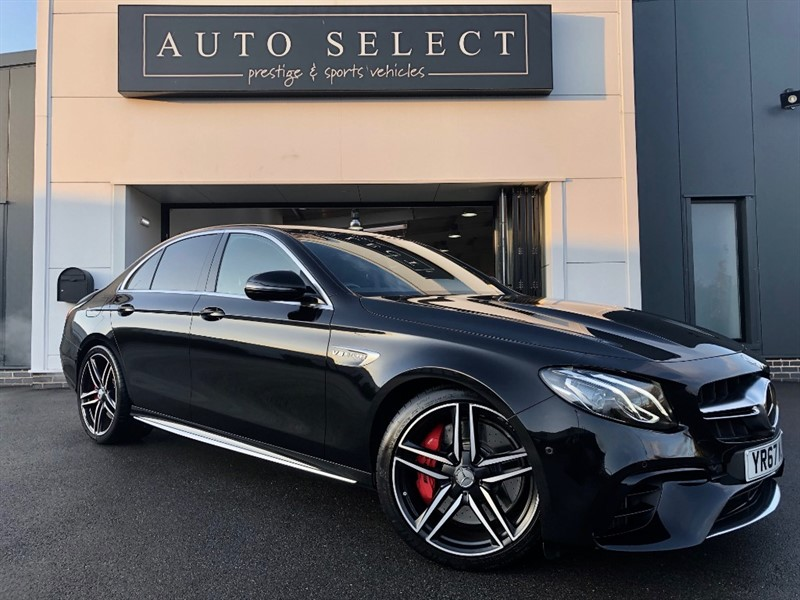 used Mercedes E63 AMG AMG E 63 S 4MATIC 4X4 ABSOLUTE MONSTER 603BHP in chesterfield