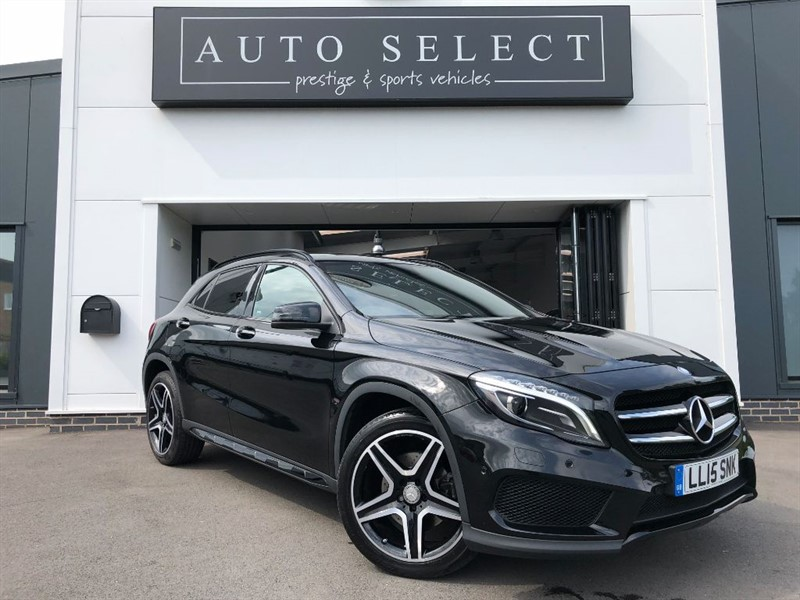 used Mercedes GL A-CLASS GLA250 4MATIC AMG LINE PREMIUM PLUS MONSTER SPEC!! 1 OWNER!! in chesterfield