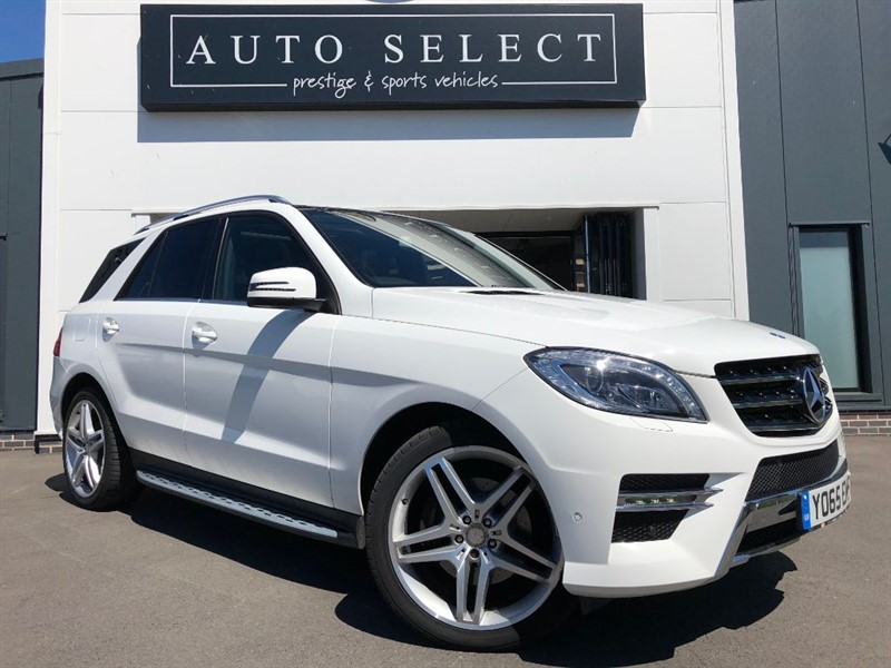 used Mercedes ML350 BLUETEC AMG LINE PREMIUM MASSIVE SPEC!! 1 OWNER!! IMMACULATE!! in chesterfield