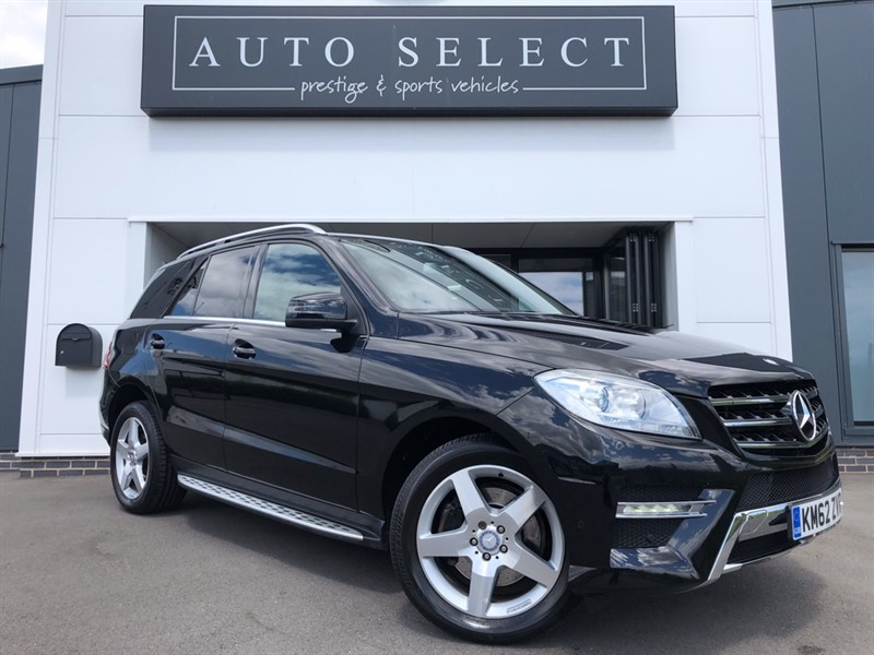 used Mercedes ML350 BLUETEC SPORT in chesterfield
