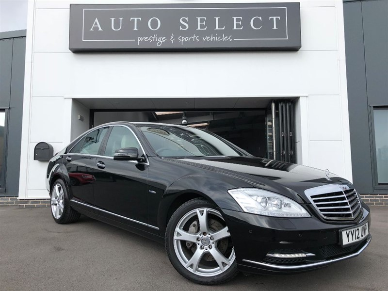 used Mercedes S350 3.0d BLUETEC ABSOLUTLEY STUNNING CAR!! in chesterfield