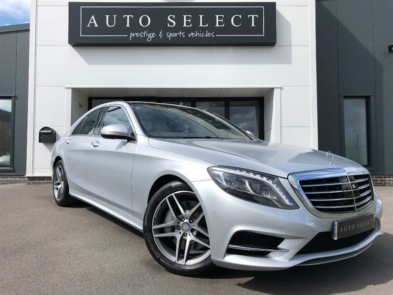 used Mercedes S350 BLUETEC AMG LINE MONSTER SPEC!! 1 OWNER!! in chesterfield