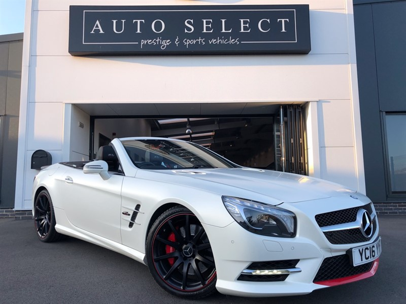 used Mercedes SL SL400 MILLE MIGLIA 417 EDITION STUNNING CAR!! in chesterfield