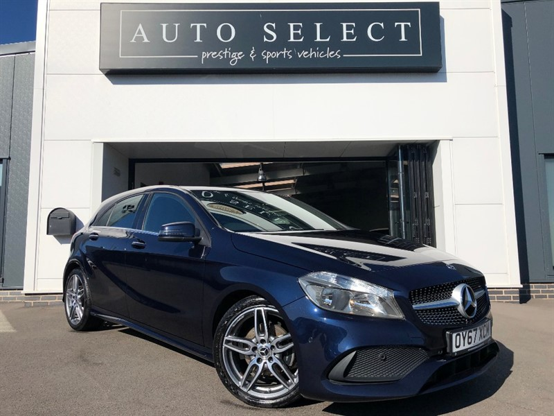 used Mercedes A180d A 180 D AMG LINE EXECUTIVE NAVIGATION!! in chesterfield