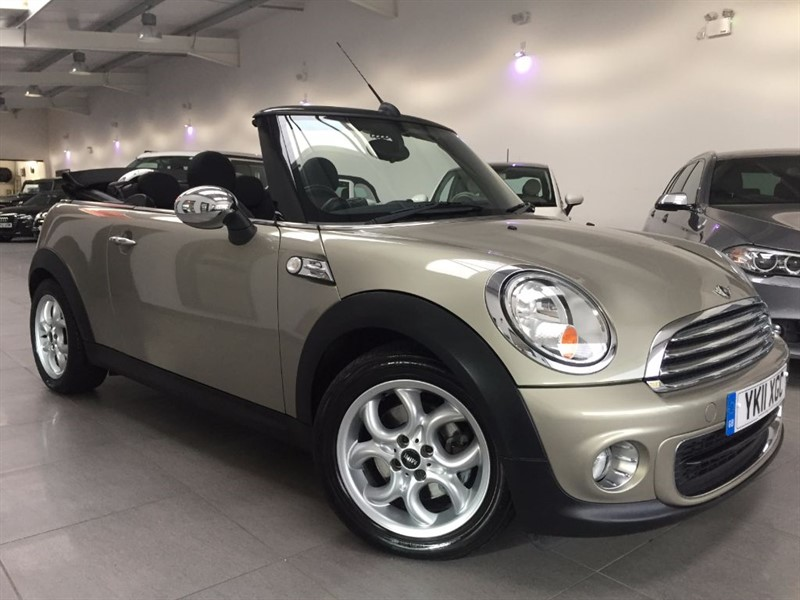 used MINI Convertible ONE in chesterfield