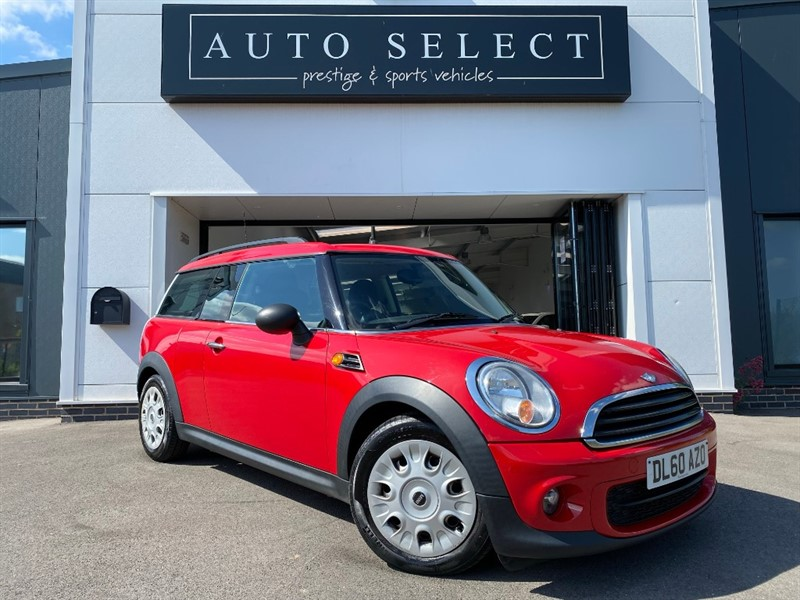 used MINI  ONE D CLUBMAN in chesterfield