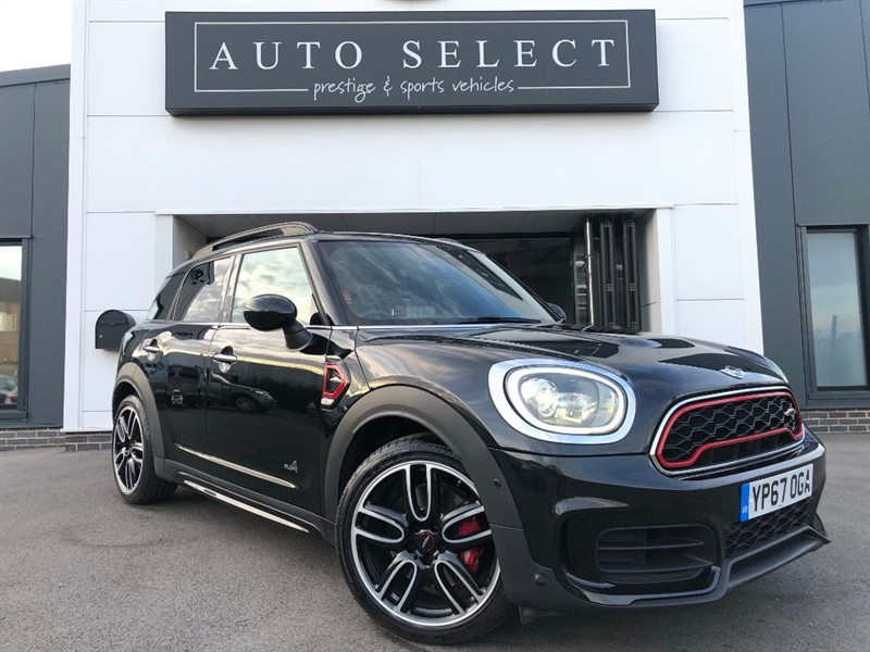 used MINI Countryman JOHN COOPER WORKS ALL4 HUGE MONSTER SPEC!! FREE UK MAINLAND DELIVERY!!! in chesterfield