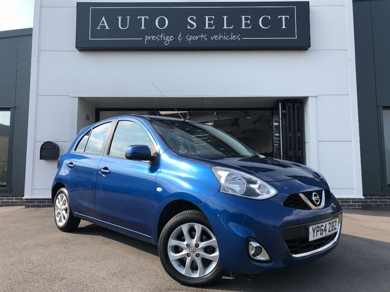 used Nissan Micra 1.2 ACENTA 1 OWNER!! IMMACULATE!! in chesterfield