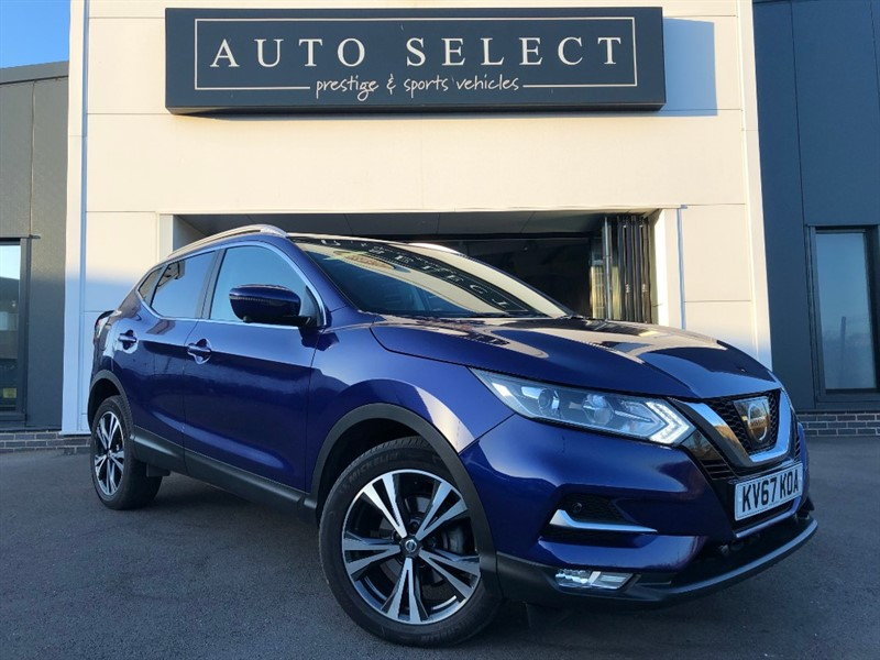 used Nissan Qashqai N-CONNECTA 1.6 DCI XTRONIC MONSTER SPEC!! in chesterfield